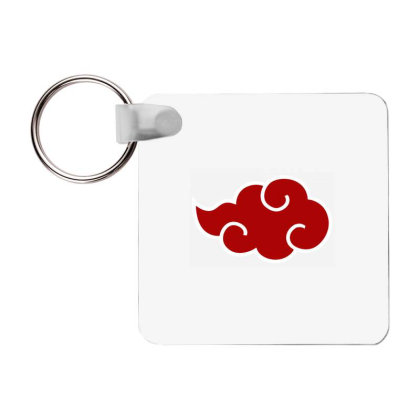 Itachi Akatsuki Frp Square Keychain Designed By Macarirro