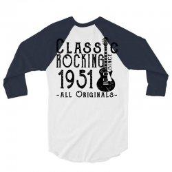 rocking since 1951 3/4 Sleeve Shirt   Artistshot