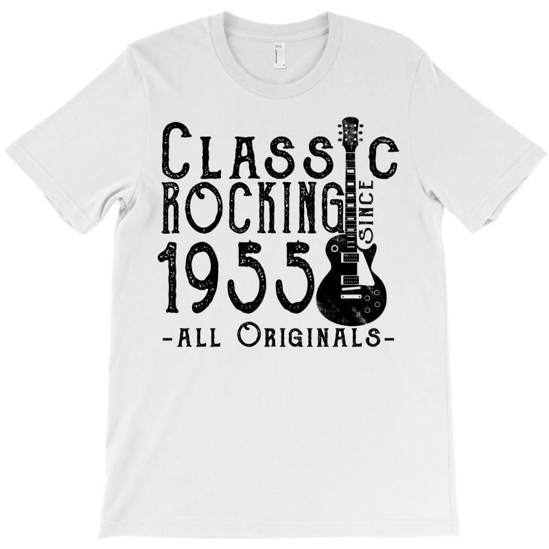 Rocking Since 1955 T-shirt   Artistshot