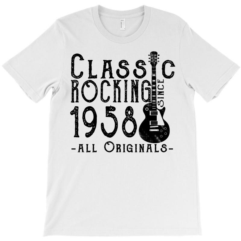 Rocking Since 1958 T-shirt | Artistshot