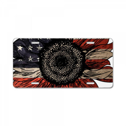 American Sunflower License Plate License Plate Designed By Nhan0105