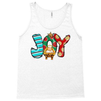 Joy Christmas Tank Top Designed By Badaudesign