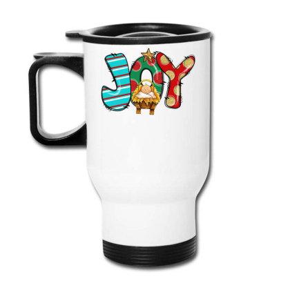 Joy Christmas Travel Mug Designed By Badaudesign