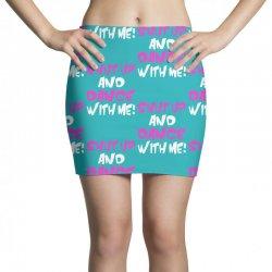 shut up dance with me Mini Skirts   Artistshot