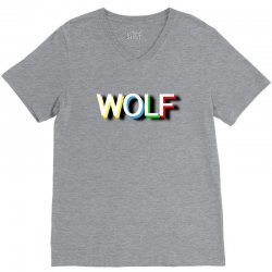 wolf V-Neck Tee | Artistshot