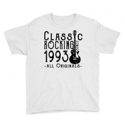 Rocking Since 1993 Youth Tee Designed By Teresabrador