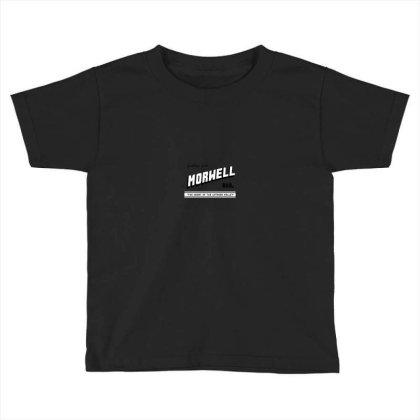 Morwell Logo Toddler T-shirt Designed By Dizzytrina