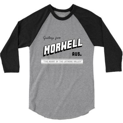 Morwell Logo 3/4 Sleeve Shirt Designed By Dizzytrina