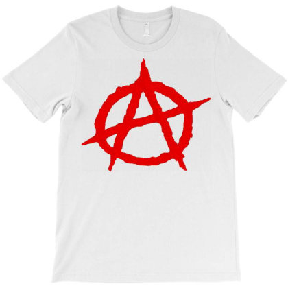 Anarchy Embroidery T-shirt Designed By Nhan0105