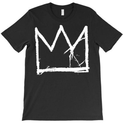 Basquiat King Crown White T-shirt Designed By Nhan0105