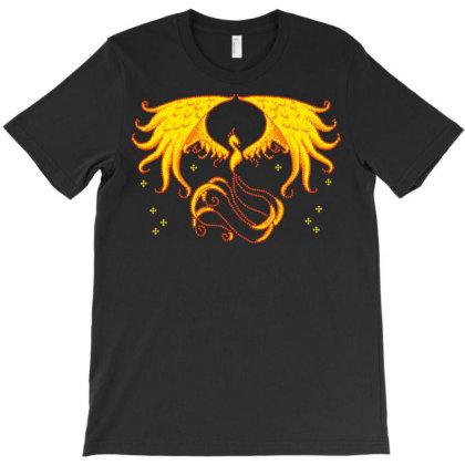 Pixel Phoenix T-shirt Designed By Nhan0105