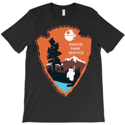 Endor Park Service Badge T-shirt Designed By Nhan0105