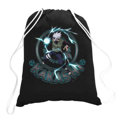 Naruto Shippuden Kakashi Drawstring Bags Designed By Koopshawneen