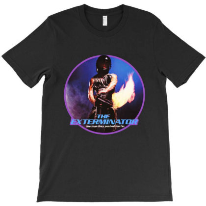 The Exterminator Action Classic T-shirt Designed By Frazier