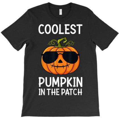 Halloween Coolest Pumpkin In The Patch Boys Girls Kids Gift T-shirt Designed By Nhan0105