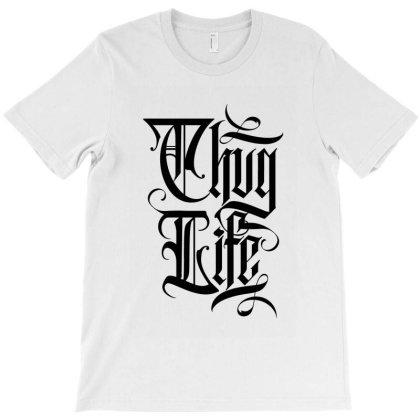 Thug Life T-shirt Designed By Tiococacola