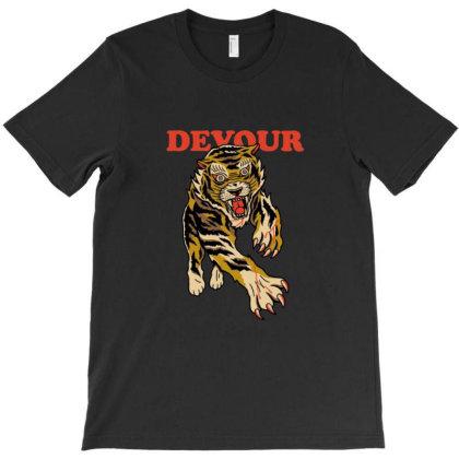 Devour T-shirt Designed By Blackstone