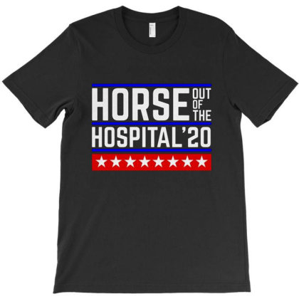 Horse In A Hospital T-shirt Designed By Bibiss