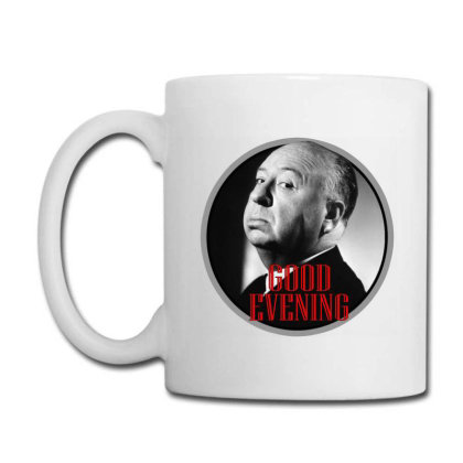 Master Of Horror Alfred Hitchcock Good Evening Coffee Mug Designed By Bibiss