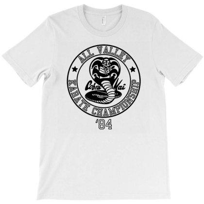 Cobra Kai All Valley Championship 84 Karate Kid T-shirt Designed By Ifa Uyainah