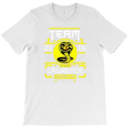 Team Lawrence Cobra Kai T-shirt Designed By Ifa Uyainah