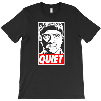 Johnny Lawrence Cobra Kai Quiet T-shirt Designed By Ifa Uyainah