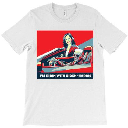 Im Ridin With Biden Harris T-shirt Designed By Ami Januar