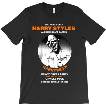 Harryween Harry Style 2020 Madison Square Garden Hoodie T-shirt Designed By Cuser1898