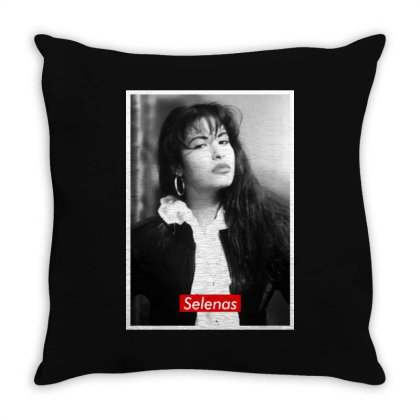 Selena's Throw Pillow Designed By Realme Tees