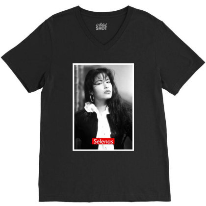 Selena's V-neck Tee Designed By Realme Tees