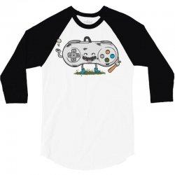 old school gamer 2 3/4 Sleeve Shirt   Artistshot