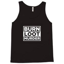 blm burn loot murder logo Tank Top | Artistshot