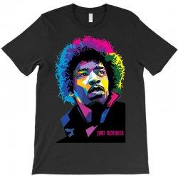 jimi hendrx Designed T-Shirt   Artistshot