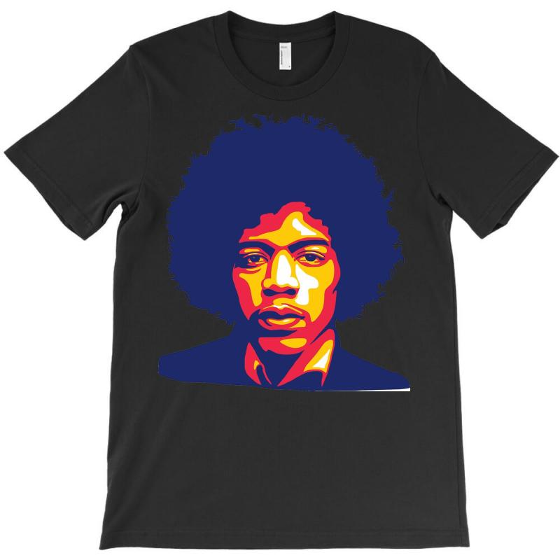 Jimi Hendrix Fire T-shirt   Artistshot
