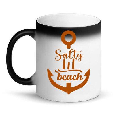 Anchor Salty Little Beach Magic Mug Designed By Hot Maker
