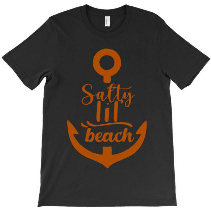 Anchor Salty Little Beach T-shirt Designed By Hot Maker
