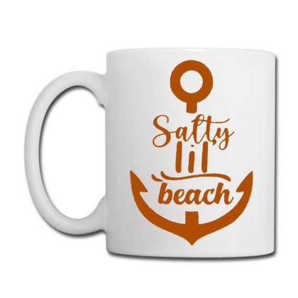 Anchor Salty Little Beach Coffee Mug Designed By Hot Maker