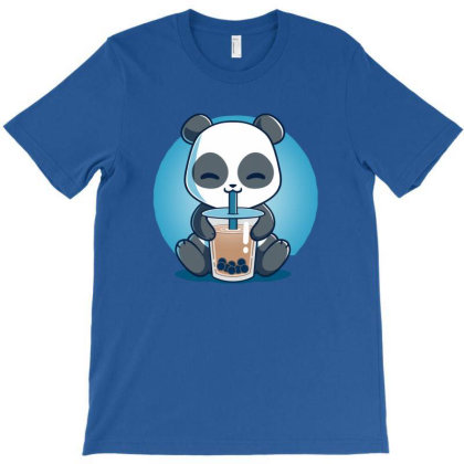 Boba Panda T-shirt Designed By Manarlos