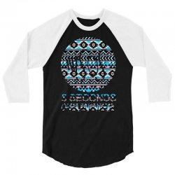 5sos five seconds of summer logo circle aztec tribal adult 3/4 Sleeve Shirt   Artistshot
