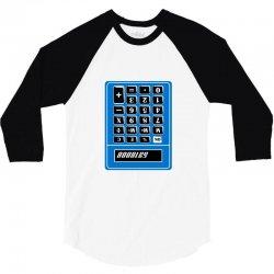 boobies calculator 3/4 Sleeve Shirt   Artistshot