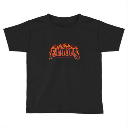 Famous Toddler T-shirt Designed By Disgus_thing