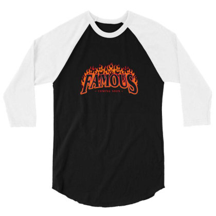 Famous 3/4 Sleeve Shirt Designed By Disgus_thing