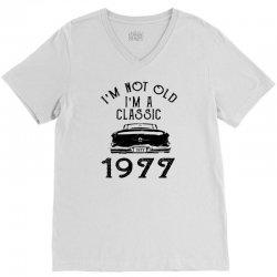 i'm not old i'm a classic 1977 V-Neck Tee | Artistshot