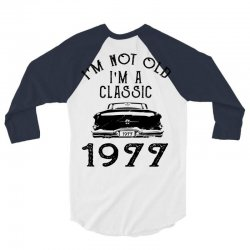 i'm not old i'm a classic 1977 3/4 Sleeve Shirt | Artistshot