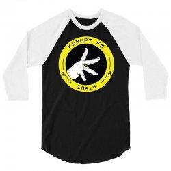 kurupt fm throw 3/4 Sleeve Shirt   Artistshot