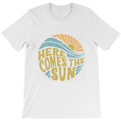 Summer Here Comes The Sun T-shirt Designed By Mendoza