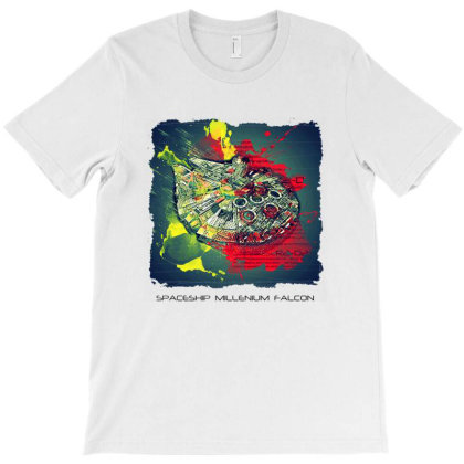 Spaceship T-shirt Designed By Mendoza