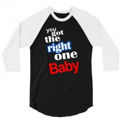 diet pepsi you got the right one baby 3/4 Sleeve Shirt | Artistshot