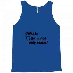 definition of uncle Tank Top   Artistshot