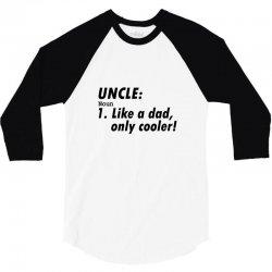 definition of uncle 3/4 Sleeve Shirt   Artistshot